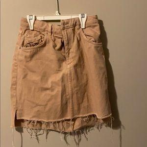 H&M Peach Mini Skirt